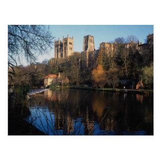 Durham-Schloss, Landkreis Durham, England, Postkarte
