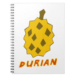 Durian-Saft Spiral Notizblock