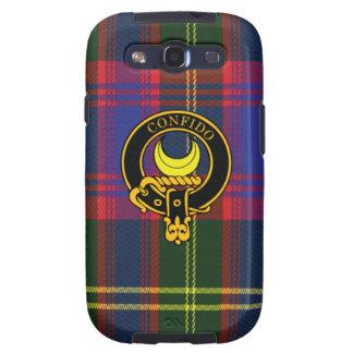 Durie schottisches Wappen und Tartan S3 rufen Fall Samsung Galaxy SIII Hüllen