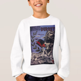 Durruti ursprüngliches Plakat 1936 FAI spanischen Sweatshirt