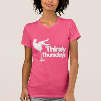 Durstige frische Faden-Shirts Donnerstags   T-Shirt