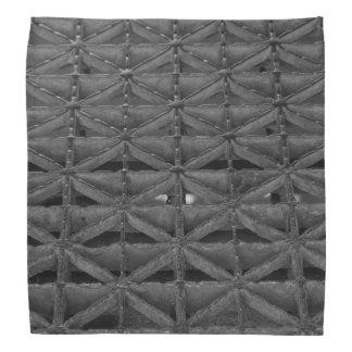 Dusable Brückeabstrakter Grayscale Kopftuch