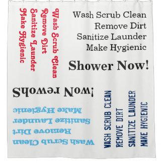 Dusche jetzt! duschvorhang