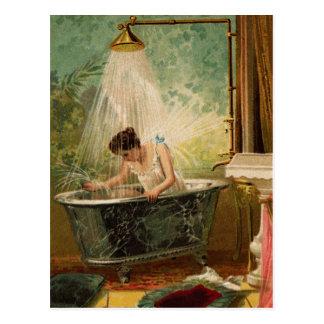 Duschen Sie die Braut-Postkarte Postkarte