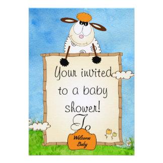 Duscheneinladung Personalisierte Einladung