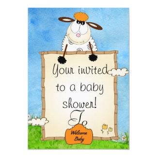 Duscheneinladung 12,7 X 17,8 Cm Einladungskarte