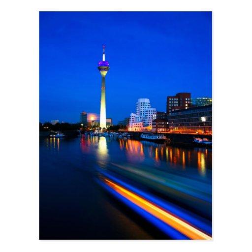 Düsseldorf 01A Postkarte