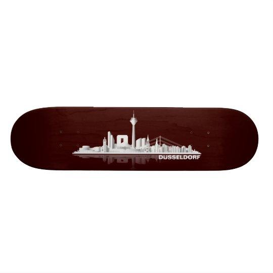 Düsseldorf City Skyline Geschenkidee Individuelle Skatedecks