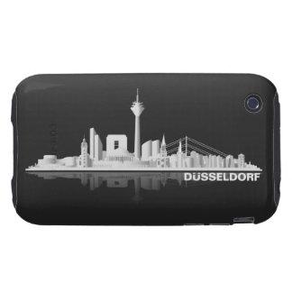 Düsseldorf City Skyline iPhone3 Hülle iPhone 3 Tough Hüllen