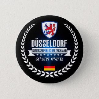 Düsseldorf Runder Button 5,7 Cm