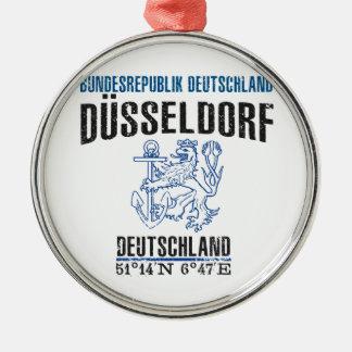 Düsseldorf Silbernes Ornament