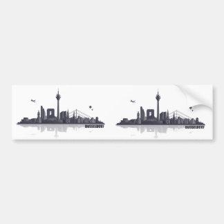 Düsseldorf Skyline Auto Sticker