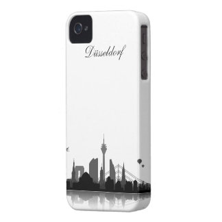 Düsseldorf Skyline iPhone 4/4s Schutzhülle / Case Case-Mate iPhone 4 Hülle