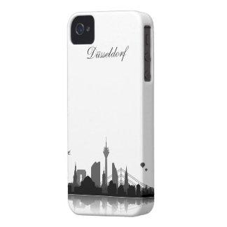 Düsseldorf Skyline iPhone 4/4s Schutzhülle / Case