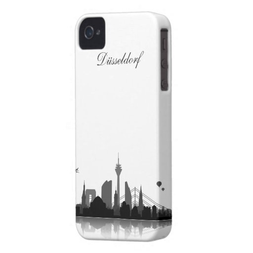 Düsseldorf Skyline iPhone 4/4s Schutzhülle / Case Case-Mate iPhone 4 Hülle
