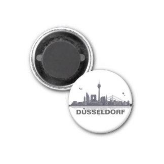 Düsseldorf Skyline Kühlschrank Magnet