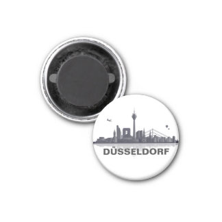 Düsseldorf Skyline Kühlschrank Magnet Kühlschrankmagnete