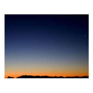Düstere Skyline Postkarte