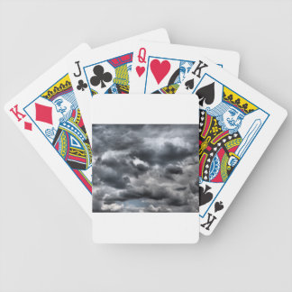 Düsterer Himmel Bicycle Spielkarten