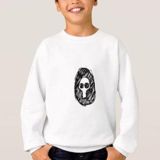düsterer Schädel Sweatshirt