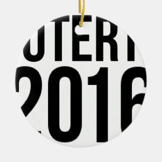 Duterte 2016 keramik ornament