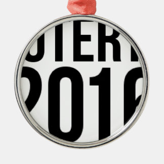 Duterte 2016 silbernes ornament