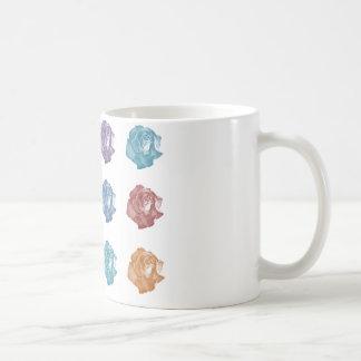 Dutzend Englisch-Rosen Kaffeetasse