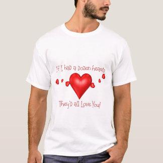 Dutzend Herzen T-Shirt