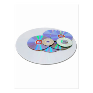 DVDs Postkarte