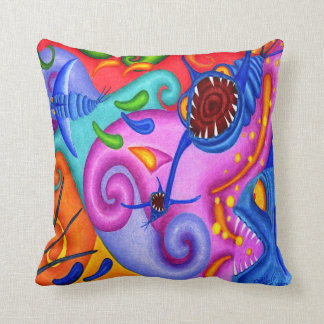 "Dwainizms ""Party Poopers"" Throw-Kissen 16 x 16 Kissen"