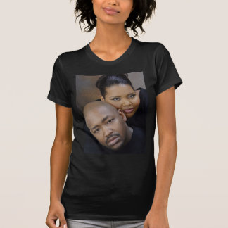 Dwayne und Andrea Hochzeits-T-Stück T-Shirt
