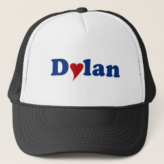 Dylan mit Herzen Truckerkappe