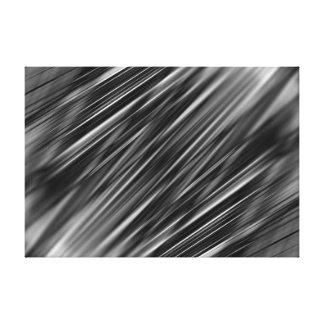 Dynamische abstrakte Linien Leinwanddruck