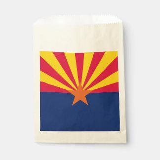 Dynamische Arizona-Staats-Flaggen-Grafik auf a Geschenktütchen