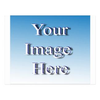 Dynamische Bild-Schablone Postkarte