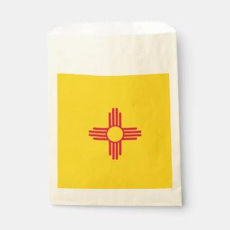 Dynamische New-Mexiko Staats-Flaggen-Grafik auf a Geschenktütchen