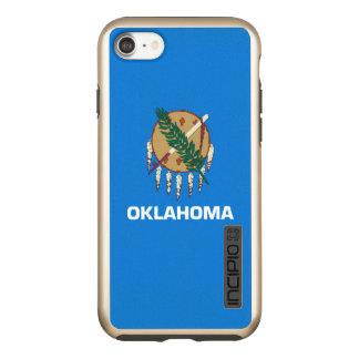 Dynamische Oklahoma-Staats-Flaggen-Grafik auf a