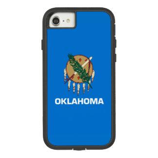 Dynamische Oklahoma-Staats-Flaggen-Grafik auf a Case-Mate Tough Extreme iPhone 8/7 Hülle