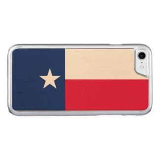 Dynamische Texas-Staats-Flaggen-Grafik auf a Carved iPhone 8/7 Hülle