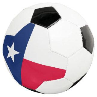 Dynamische Texas-Staats-Flaggen-Grafik auf a Fußball