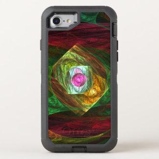 Dynamische Verbindungs-abstrakte Kunst OtterBox Defender iPhone 8/7 Hülle