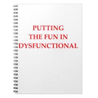 dysfunktionell spiralblock