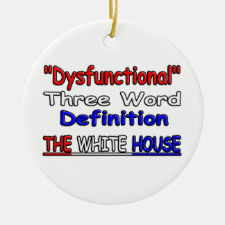 """""""Dysfunktionell """" Weihnachtsornament"""