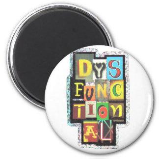 dysfunktionell runder magnet 5,7 cm
