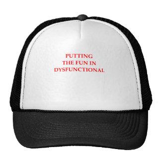 dysfunktionell truckerkappe