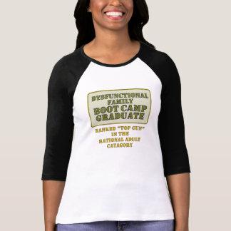 Dysfunktionelle Damen 3/4 HülseRaglan (angepasst) Tshirts