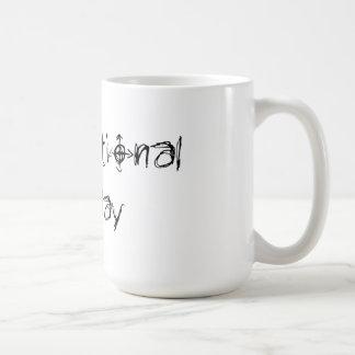 Dysfunktionelle Feiertags-Kaffee-Tasse