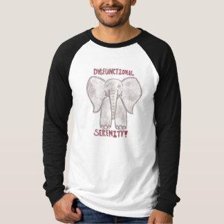 Dysfunktionelle lange Hülse T-Shirt