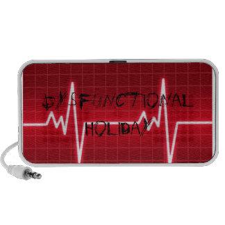 Dysfunktionelle Lautsprecher des Feiertags-EKG