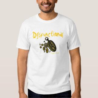 Dysfunktioneller lustiger T - Shirtentwurf Hemden